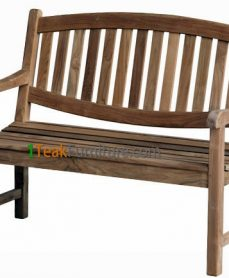 Oval Java Bench 120