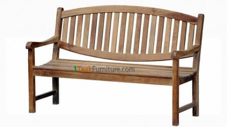 Oval Java Bench 150