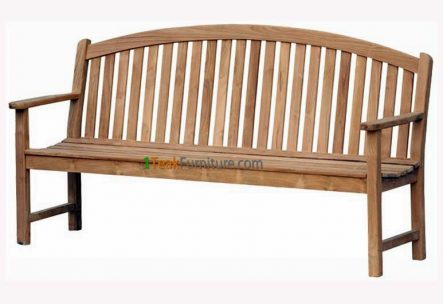 Curved Java Bench 180