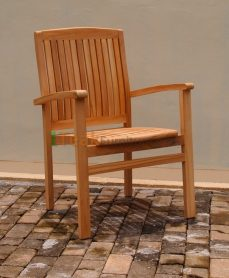 Teak Stacking Chair