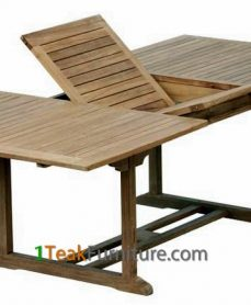 Teak Rectangular Extend Table 180-240 / 100