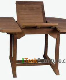 Teak Octagonal Extend Table 120-170 / 100