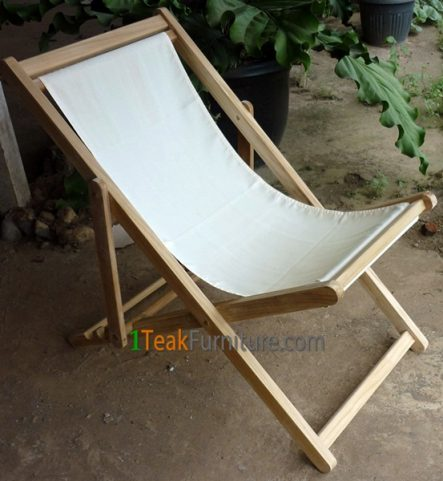 Teak Canvas Beach