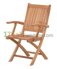Teak Stuhl Folding Arm Chair
