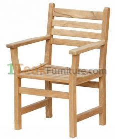 Teak Diva Arm Chair