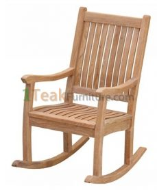 Teak Alfa Rocking Chair