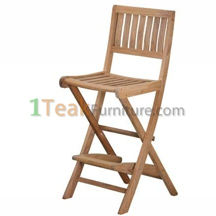 Teak Denpasar Bar Chair