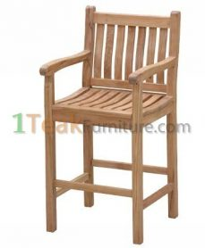 Teak Sanur Bar Arm Chair