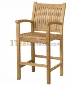 Teak Indonesia Bar Arm Chair