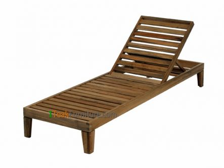 Java Teak Lounger