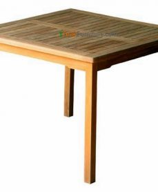 Teak Square Dining Table 100 x 100