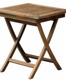 Teak Square Folding Table 70