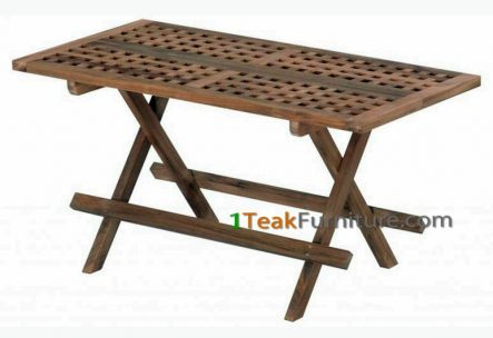 Long Cross Picnic Table