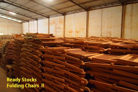 Ready Stocks Teak Folding Chair